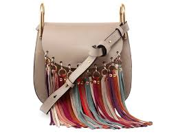 Chloe-Hudson-Mini-Multicolor-Fringe-Saddle-Bag
