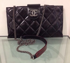 8ee2fe8e540c The Amazing And Soft Chanel Duo Color Clutch Replica Bag Is On Sale ...